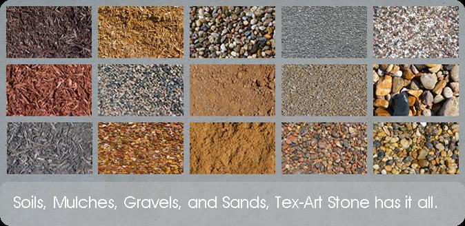 Natural Stone Mulch Sand Gravel Soil Tools